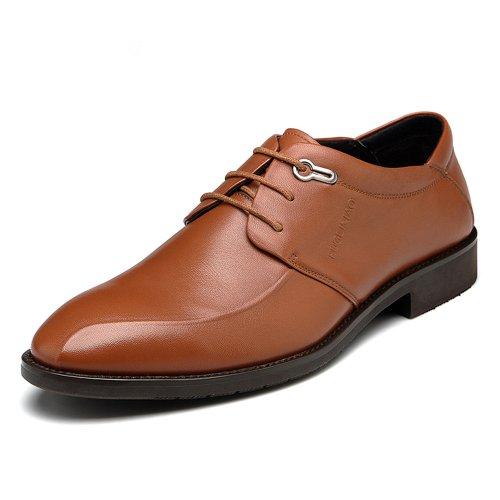 Fuguiniao 富贵鸟 商务正装皮鞋 休闲皮鞋 时尚潮鞋 透气板鞋 英伦风 皇隆鞋T401513