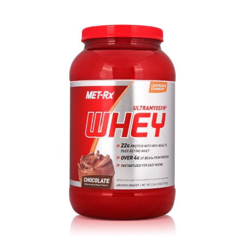 MET-Rx 美瑞克斯 Ultramyosyn乳清蛋白粉固体饮料(巧克力味)907g(进口)-图片