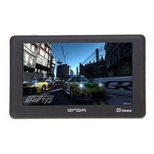 ONDA 昂达 MP4 VX530T 4G(4.3寸高清触摸屏,支持视频输出/黑色)