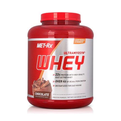 MET-Rx 美瑞克斯 Ultramyosyn乳清蛋白粉固体饮料(巧克力味)2260g(进口)-图片