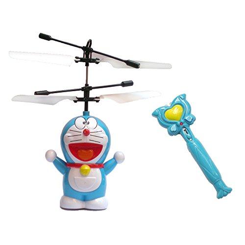 玩通天 哆啦a梦 遥控飞机 悬浮感应飞行器 飞天双模式 可爱迷你遥控