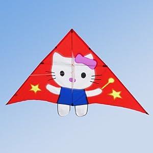 百特 潍坊风筝-儿童卡通风筝-kt hello kitty 凯蒂猫风筝 孩子们最爱
