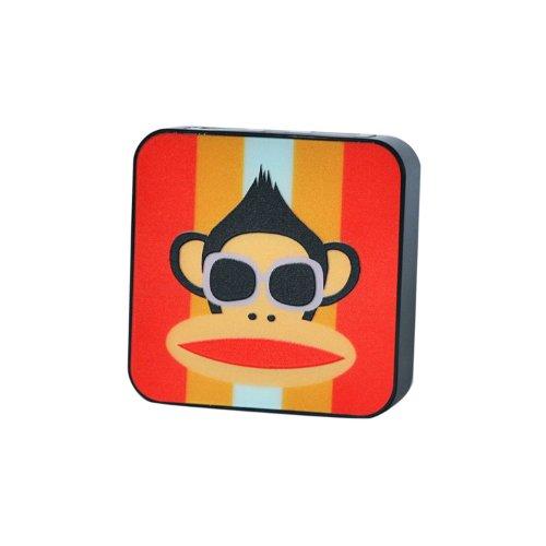 香港QH泉浩7800mAH 多功能 移动电源7800 充电宝 (适用于所有USB接口的IPHONE4 IPHONE4S IPHONE5 IPHONE5C IPHONE5S 三星 HTC 摩拖罗拉 诺基亚 小米 中兴 天语等各种智能手机 及 MP3 MP4 PDA PSP 数码相机 掌上游戏机 蓝牙设备) 7800 烤漆 悦动卡通 (墨镜大嘴猴)-图片