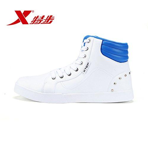 XTEP 特步 男鞋潮流时尚休闲运动鞋耐磨男滑板鞋
