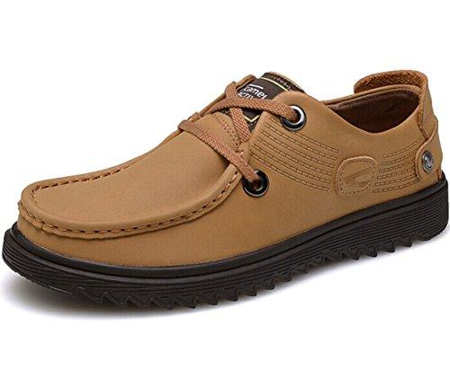 CAMEl ACTlVE 英伦系带户外复古保暖透气低帮马丁鞋皮鞋工装鞋商务休闲鞋单鞋 时尚潮鞋 男鞋子