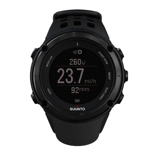 SUUNTO 颂拓 拓野2石英中性手表 GPS酷黑 SS019561000-图片