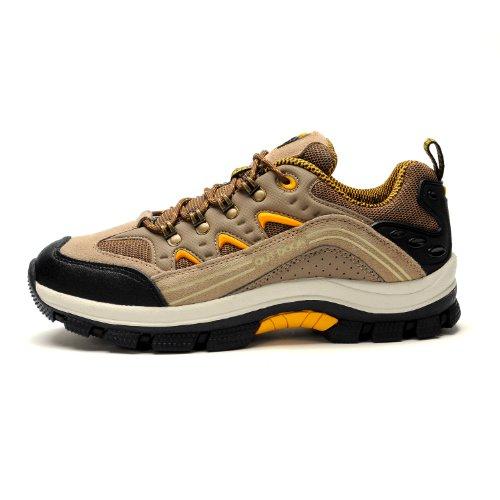 GERTOP 户外鞋 防滑耐磨减震保暖徒步鞋 登山鞋男鞋