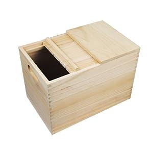 jammywood 吉木 木质米桶 桐木米箱 环保健康米缸 (10kg送米升)