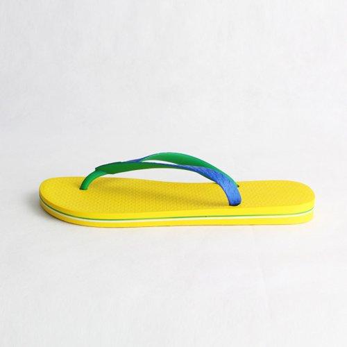 Ipanema 依帕内玛 巴西纯色平底舒适人字拖沙滩拖鞋 黄色