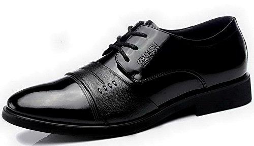 2015时尚商务休闲鞋 亮面漆皮牛皮鞋 潮流男鞋 纯色平跟鞋 男式低帮鞋子 正装鞋 5G681