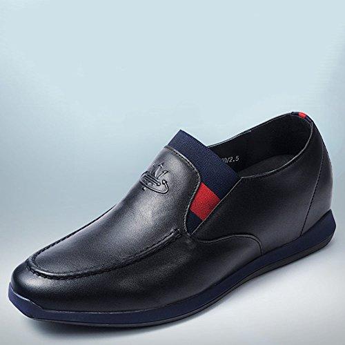 Gog 高哥 增高鞋男士隐形内增高男鞋6cm休闲鞋商务皮鞋秋季415405