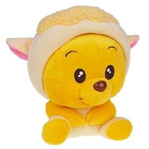 十二生肖毛绒玩具羊-玩具-亚马逊