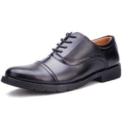 时尚男士系带商务皮鞋