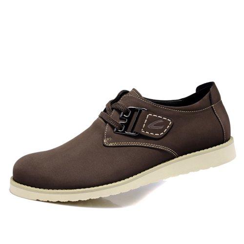 Camel骆驼  新款磨砂皮男鞋 轻便日常休闲鞋 C63607199