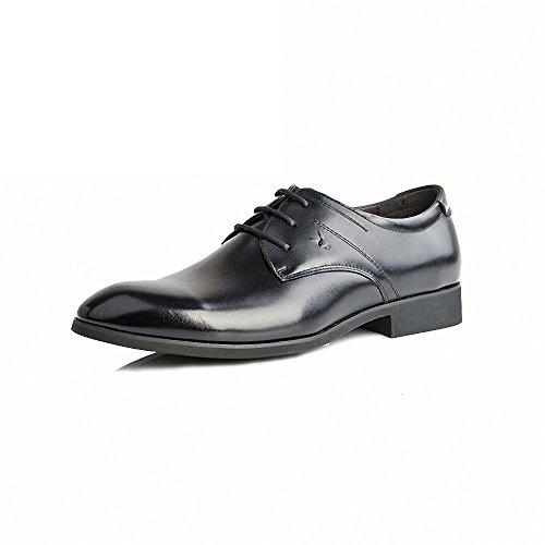 PLAYBOY 花花公子 男鞋正品英伦商务正装男士皮鞋 系带低帮透气 2013新款