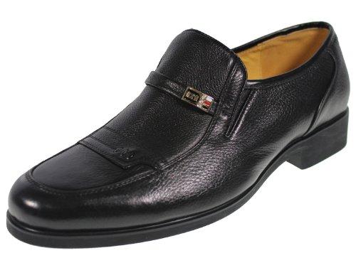 YEARCON 意尔康 日常休闲鞋真皮鞋男单鞋套脚男鞋子 25ZE92313A