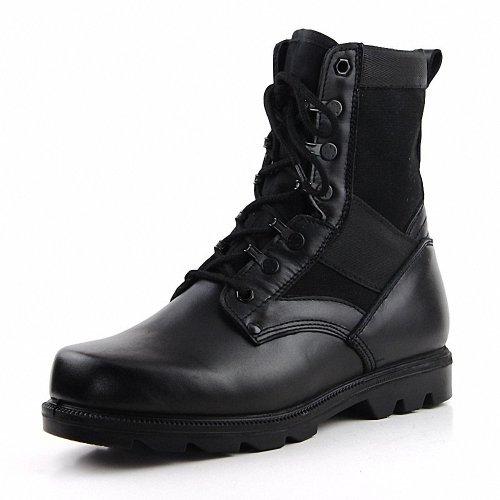 强人 3515正品 男士07作战靴 真皮特种部队工装靴 双密度军靴男靴