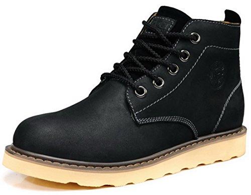 GUCIHEAVEN 古奇天伦 时尚男靴 真皮马丁靴 工装靴 高帮鞋 休闲运动鞋 5D568