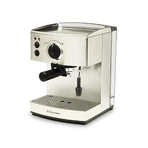 5折 Electrolux 伊莱克斯 高压泵式蒸汽咖啡机 EES200   799元包邮