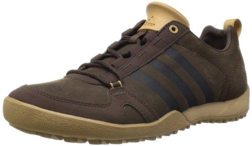 Adidas 阿迪达斯 DAROGA TWO 11 LEA 男 越野跑步鞋 G97028 野马棕/野马棕/工艺土黄F12 43 (UK 9)