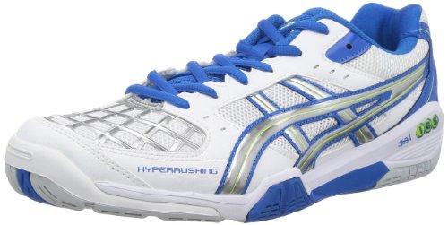 ASICS 亚瑟士 HYPER RUSHING 4 中性羽毛球鞋 TOB518 与yy球鞋简单对比