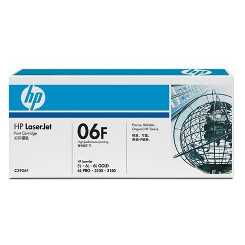 惠普(HP)LaserJet C3906F 黑色硒鼓(适用 LaserJet 5L 6L 3100 3150 )