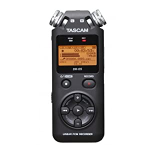 TASCAM 达斯冠 DR-05 手持录音机 黑色