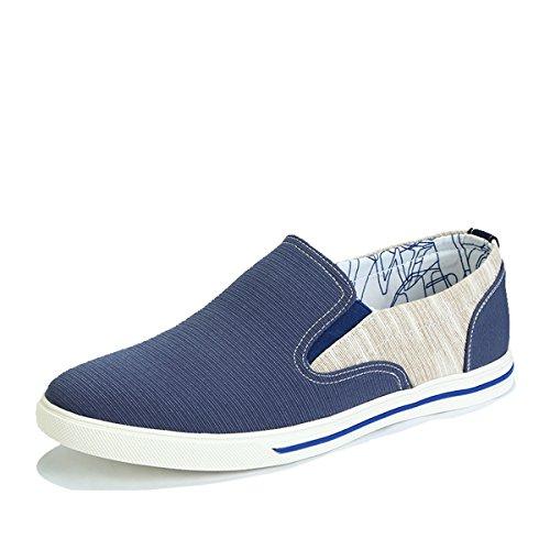 Tt&Mm 汤姆斯 2015夏季透气休闲懒人鞋男乐福鞋一脚蹬韩版潮帆布鞋536702M
