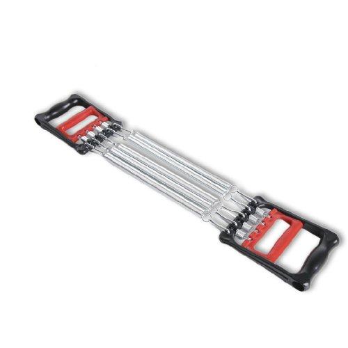 JUFIT 居康 多功能弹簧拉力器臂力器 5条簧 全新训练集扩胸器握力器臂力腕力器全能组合健身训练一体功效 5合一-图片