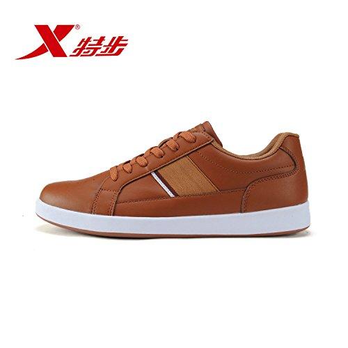 XTEP 特步 男鞋经典百搭时尚防滑耐磨男板鞋987319319530