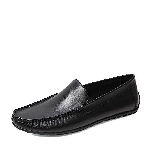 Senda 森达 森达春季专柜同款打蜡牛皮休闲男单鞋专柜 2RZ01AM5