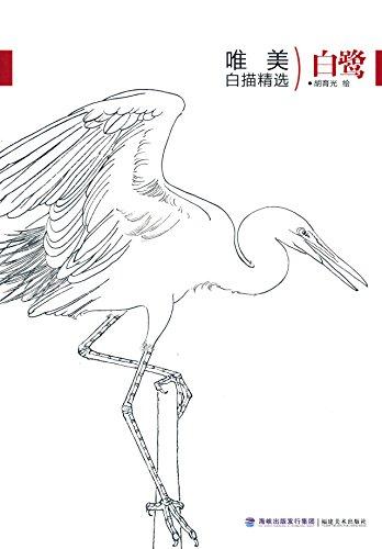 白鹭简笔画 步骤