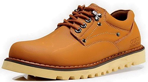 时尚男鞋 春秋季男士休闲鞋 真皮单鞋子 韩版大头皮鞋 潮流工装鞋 5G102