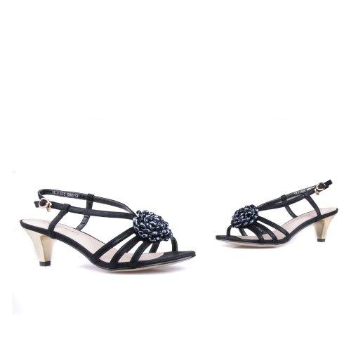 花朵鞋 中跟鞋
