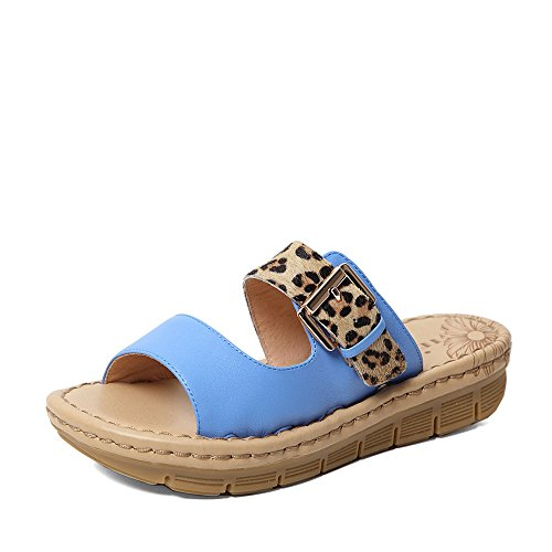 Teenmix 天美意 天美意夏季专柜同款杏色山羊皮女鞋专柜 6YV04BT5