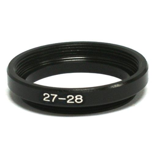 pixco 百摄宝 27mm-28mm 27转28 黑色 铝合金 顺接环图片