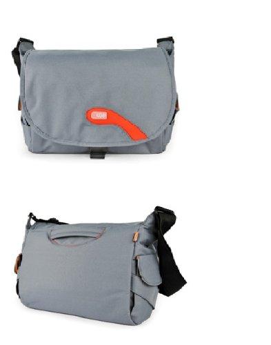 Hugger 喜格儿 时尚信差 灰蓝色 电脑包 ¥199