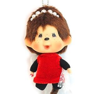 甜蜜城堡 香港正版 蒙奇奇公仔可爱娃娃monchhichi包挂 精美盒装 15cm