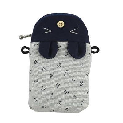 kaori 薰子 可爱猪头造型拉链手机包卡套数码相机袋 女式 ktzz028