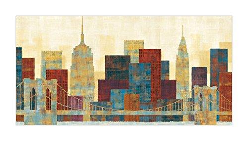 纽约 城市风光 风景装饰画 景观风格 城市景观 装饰画分类 美国各州