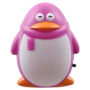 冠雅小夜灯小企鹅GY-8001(两个装)