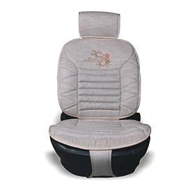 ingham 汽车座垫三件套bz0802a 浅米色 汽车用品 卓越亚马逊 -白金高清图片