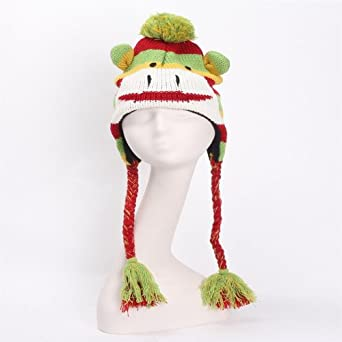 针织护耳帽 儿童帽子