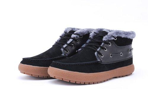 IVG 潮流新款 男士棉鞋 雪地靴 休闲时尚保暖牛皮靴