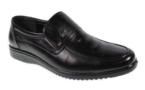YEARCON 意尔康 日常休闲鞋真皮鞋男单鞋套脚男鞋子 25AE70126A