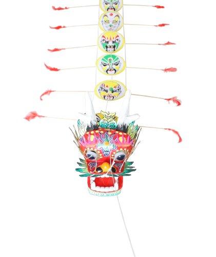佳木龙头蜈蚣手工风筝(套装03):亚马逊:运动健康