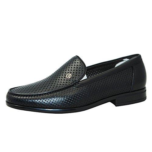 金利来男鞋2015夏款商务正装男士牛皮套脚凉鞋182520037AHD