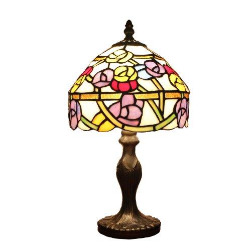 8寸/20cm台灯,正品蒂凡尼台灯,花朵缠绕,经典欧式田园风格,.