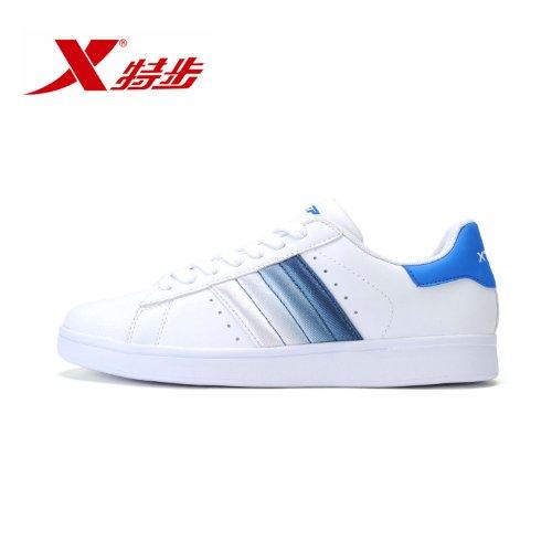 XTEP 特步 男鞋休闲时尚运动鞋耐磨滑板鞋