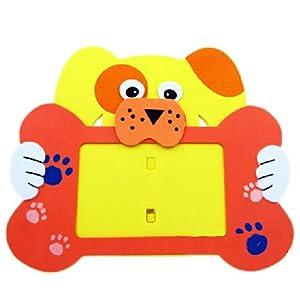 海鲸eva手工动物相框 手工拼装eva粘贴画立体贴画儿童